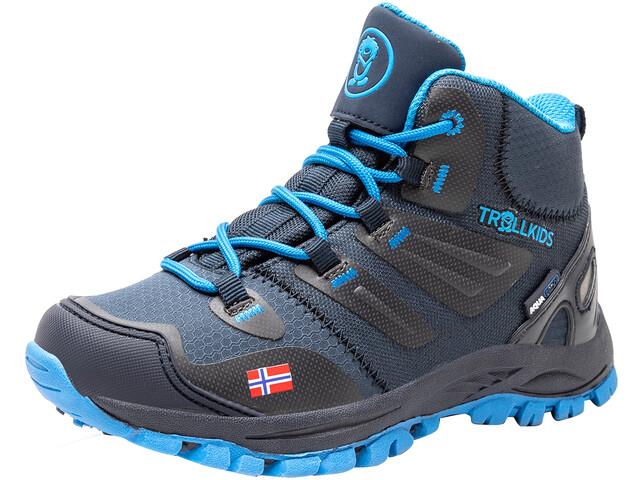 TROLLKIDS Rondane Hiker Middelhoge Schoenen Kinderen, blauw